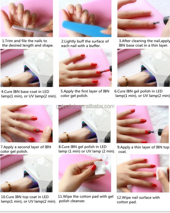 No Drying Time After Application Color Resistant Flexible And Shiny To Any Test Suitable For Natural Nails Uv Gel False