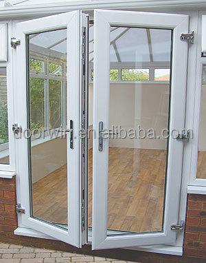 Aluminum Frame Double Glass Swing Door Buy Double Glass