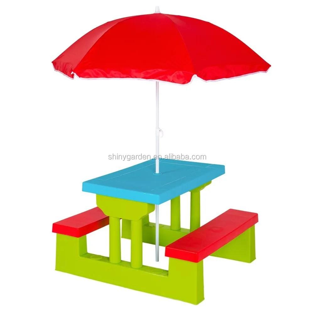 walmart kids multi colour picnic table outdoor indoor bench set chair with umbrella buy kids chair picnic table kids bench product on alibaba com