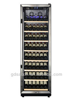 Display Shelves 120 Bottles Stainless Steal Door Frame