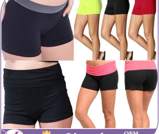 Women Sexy Yoga Slim Panties Boy Shorts Mini Brief Cotton Spandex High Waisted Booty Shorts Leggings Underwear Lot Dance Buy Women Shortsbooty Shorts