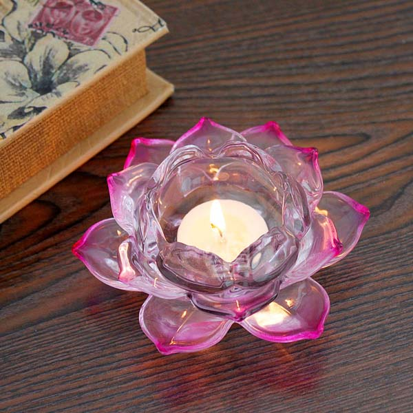 Hot selling capiz lotus candle holder wholesaler