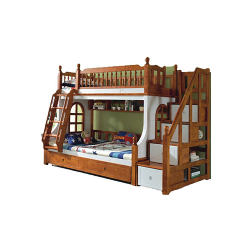Children Solid Wood Bunk Bed With Slide For Bedroom Furniture Of Boys And Girls Buy Bunk Beds Kids Bunk Bed With Desk Bedding Set Product On Alibaba Com