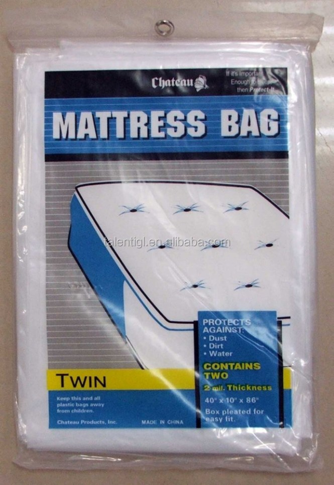 Twin Plastic Mattress Cover Bag Ping Bags T Shirt Garbage Product On Alibaba