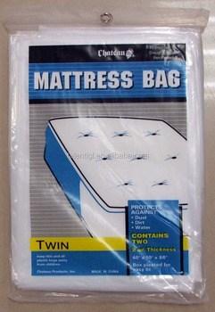 Twin Plastic Mattress Cover Bag