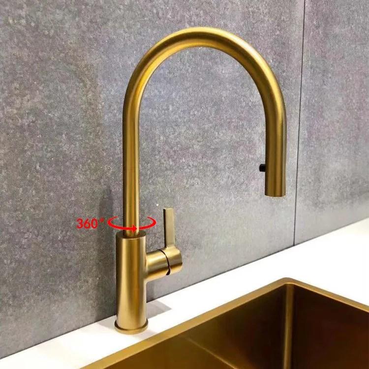 sprayer tap brushed brass swivel spout gold kitchen faucet buy gold kitchen faucet swivel spout gold kitchen faucet gold kitchen faucet with sprayer