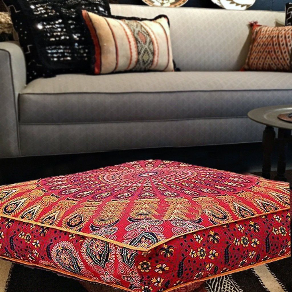 Living Room Furniture Ottomans Large Cushion Covers Elephant