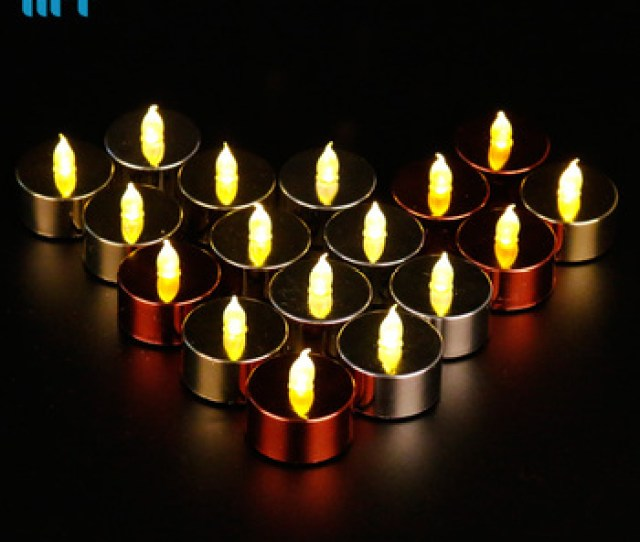 Stunning Flameless Led Tea Light Candles Wedding Holidy Thanksgiving Day Tealight Candles Buy Battery Powered Flameless Candlesled Fake Candles