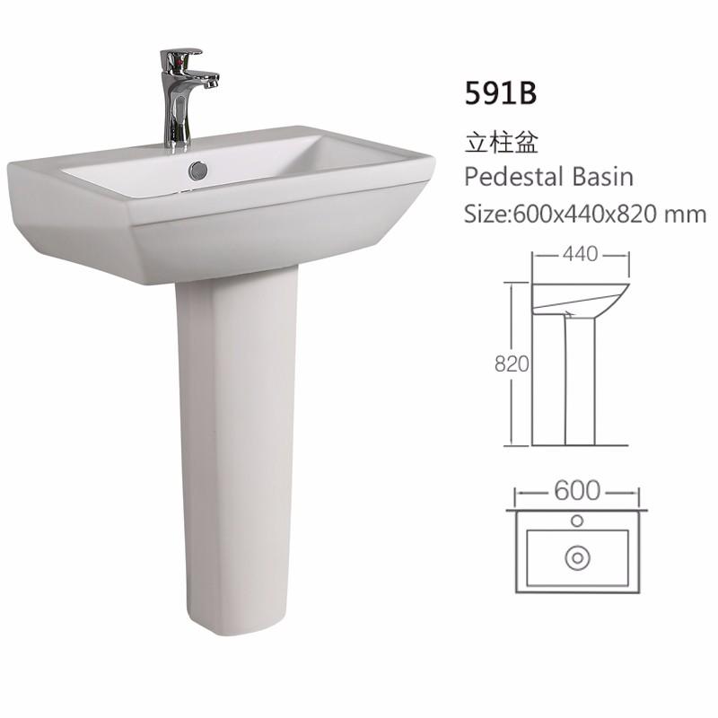ceramic small size single hole pink sink rectangular pedestal wash basin buy ceramic pedestal basin rectangular pink sink small wash basin single