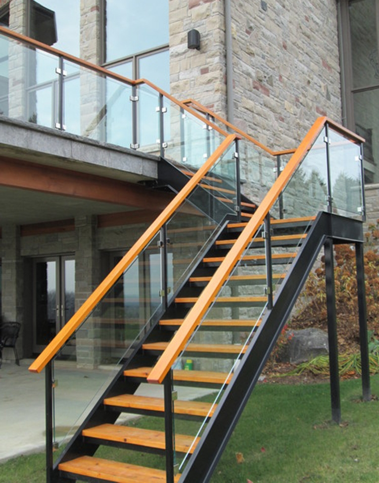 Good Prices For Prefabricated Exterior Stairs Stairs To External   External Steel Staircase Prices   Handrail   Porch   Deck   Stair Treads   Wrought Iron Railings
