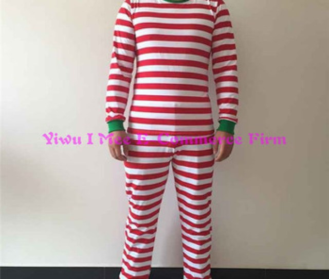 Boutique Matching Family Christmas Pajamas Plus Size Adult Red Stripe Cotton Christmas Outfits Im Csl Buy Plus Size Women Cotton Pajamasmatching