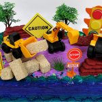 Buy 15 Piece Construction Trucks Themed Birthday Cake Topper Featuring Heavy Duty Equipment Vehicles And Decorative Themed Accessories In Cheap Price On Alibaba Com