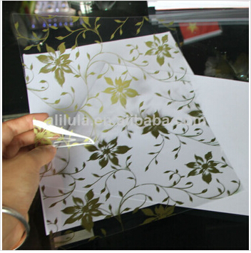 Frosted Color Decorative Vinyl Gl Window Film With Best Price