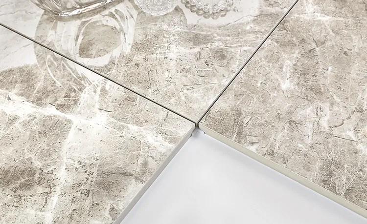 carrelage mural en ceramique de sol en marbre gris clair 800x800 decoration de la maison du salon ou de la salle a manger bon marche imitation brique