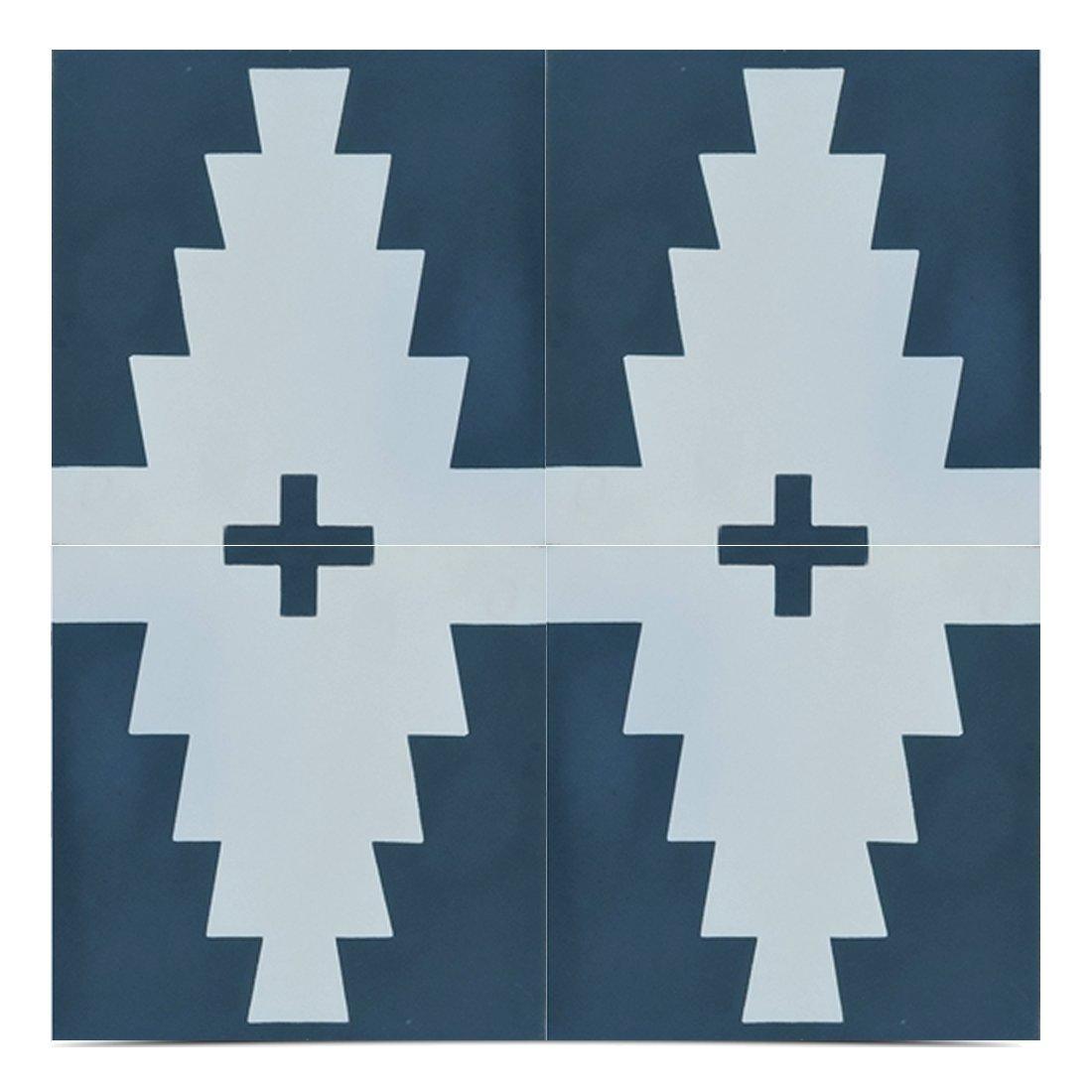 02 midar 8x8 inch handmade cement tile