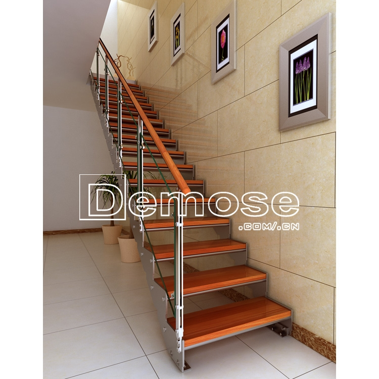 Outdoor Decorative Wood Glass Steps Handrails Railings For Sale   Outdoor Wooden Handrails For Steps   Stair Treads   Deck Stairs   Wrought Iron   Staircase   Brick