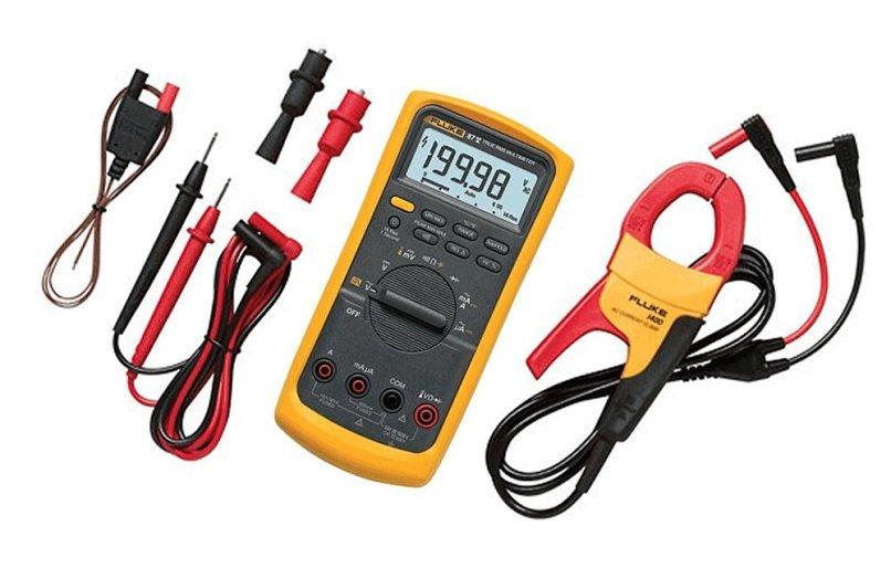 Get Quotations Fluke 87v Imsk Digital Multimeter With I400 Clamp Meter Combo Kit