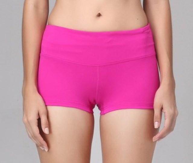 Wholesale Nylon Spandex Dry Fit Booty Shorts Women