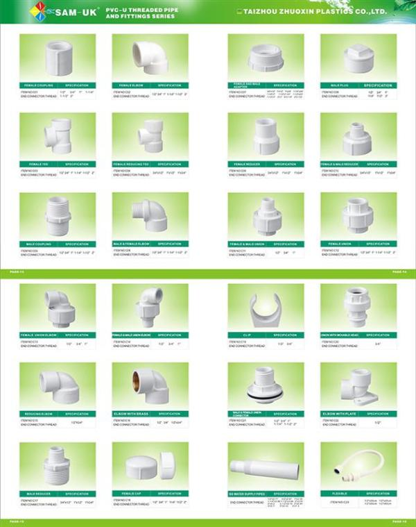 Plumbing Fittings Names Picture Pvc Reducer Coupling - Buy ...