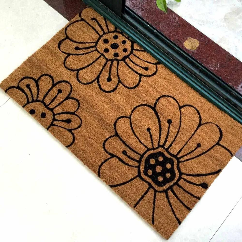 paillasson coco imprime exterieur pour obi gifi adeo lidl buy tapis de coco imprime exterieur tapis de porte en coco tapis de coco imprime exterieur