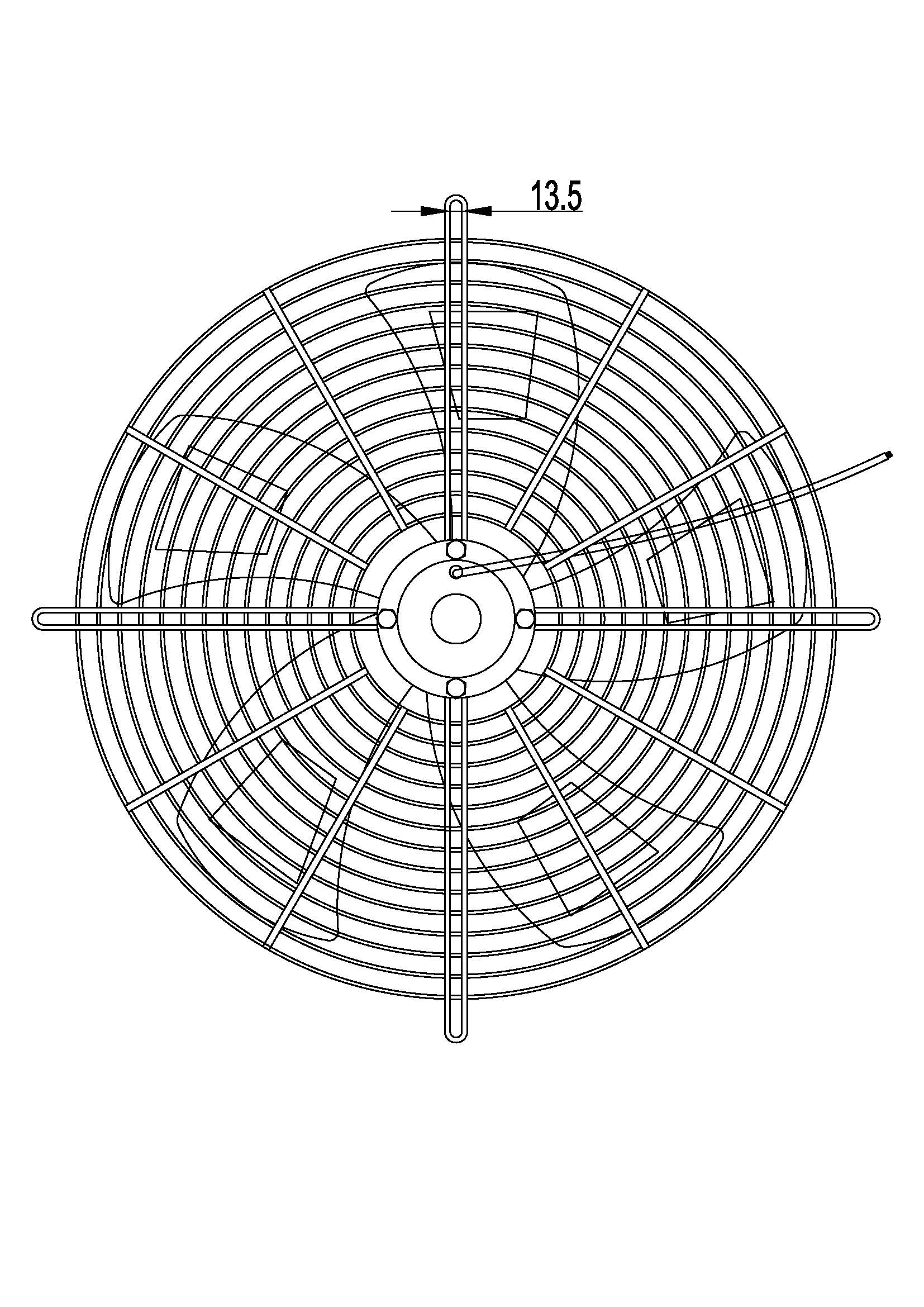 China Leading Factory Price Three Phase Outer Rotor Axial