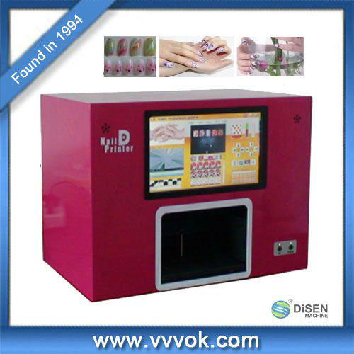 Diy Nail Art Sting Printing Machine Colors Drawing Polish Printer Tool With 6