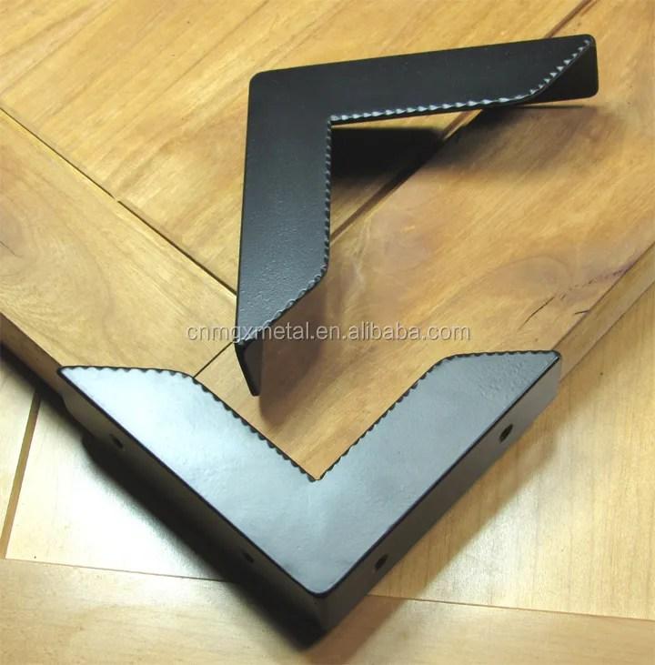 protecteur d angle de meubles decoratif et rustique en acier revetu de poudre noire 36 pieces offre speciale buy decorative furniture corner