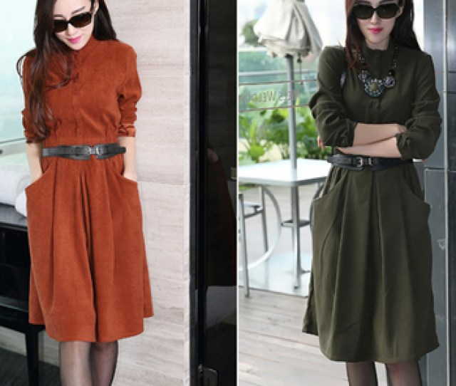 Middle Age Fashion Casual Woman Dressesoem Women Autumn Winter Long Sleeve Formal Dresses For Ladies Buy Middle Age Fashion Dressoem Dresswomen Long