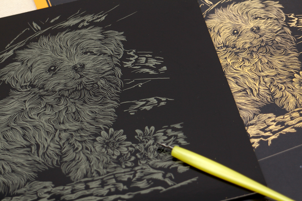 Magic Scratch ArtScratch PaperEngraving Art Buy Magic
