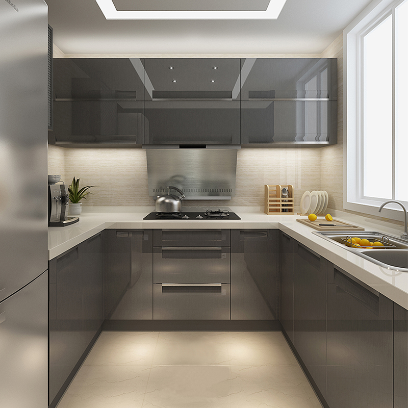 Guangzhou Small Kitchen Design Philippines Customized