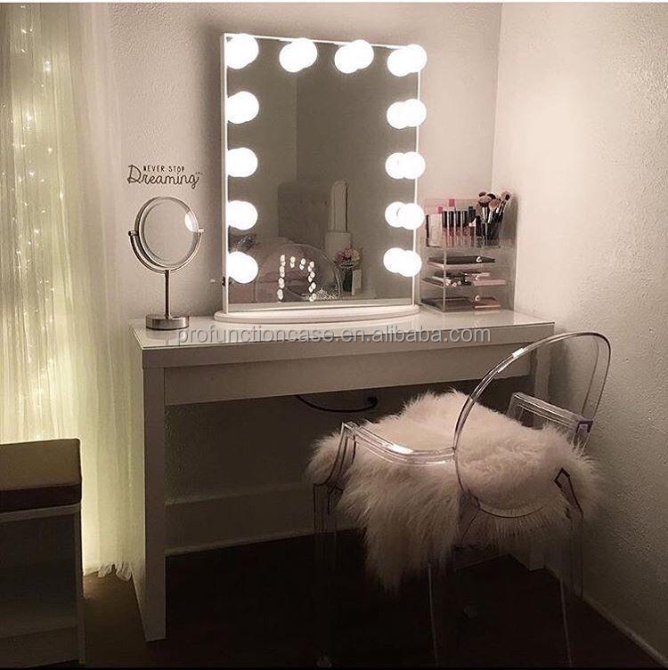 Miroir Ampoule Maquillage Miroir De Maquillage Hollywood