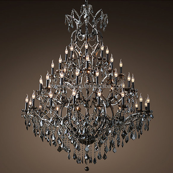 Luxury Large Hotel Lobby Restaurant Chandeliers Lighting Crystal Chandelier Ceiling Pendant Hanging Light Fixture Cz2519b