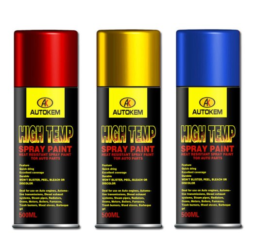 Automotive And High Temperature Spray Paint Heat Resistant Up To 1000 Degrees