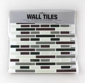 kitchen bathroom tile decals vinyl sticker mosaic white and grey buy vinyl sticker adhesive vinly wall tile splashback vinly wall tiles product on