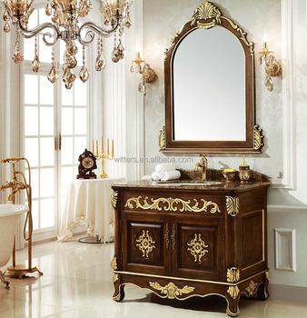 Antique Fine Handmade Victorian Bathroom VanityVintage