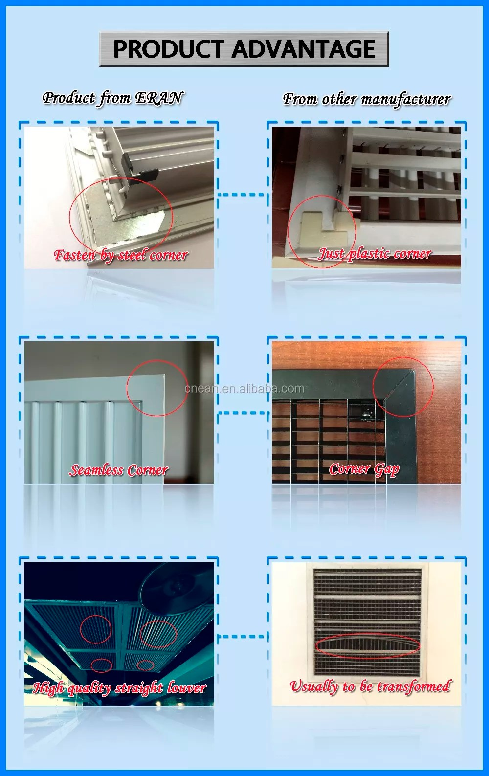 aluminum alloy closable exhaust louvers and vents for hvac systems buy exhaust louvers and vents product on alibaba com