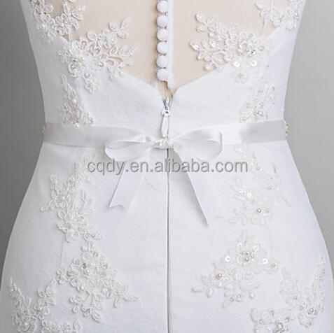 2015 Bridal Sash Embroidered Wedding Dress Sash Banquet