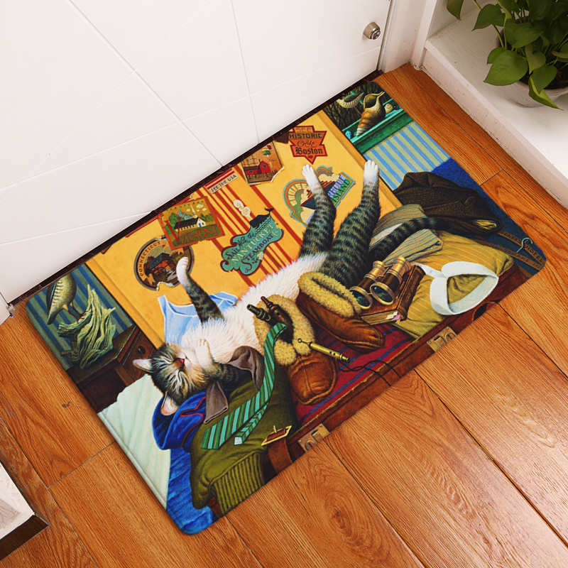 Cat Kitten Floor Mat Door Mat