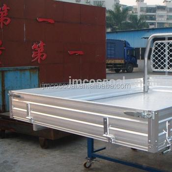 en aluminium landcruiser ramassage ute plateau lit