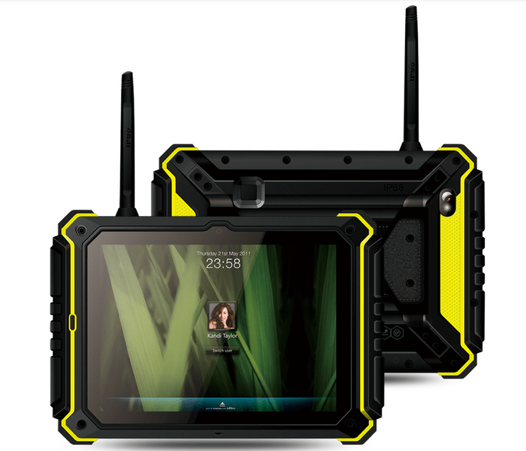 Android Tablet With Rfid Reader 8 Inch Rugged Tablet Phone ...