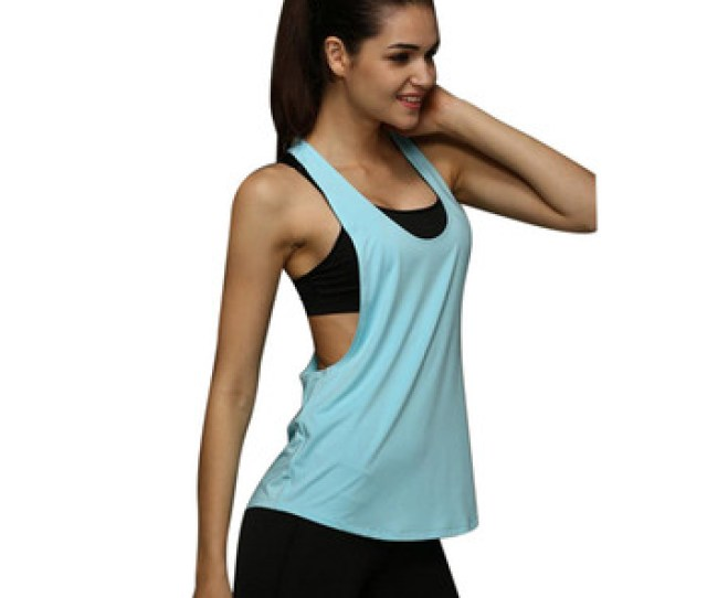 Sexy Fitness Clothes Women Gym Loose Workout Sleeveless Wear Top Buy Fitness Wearworkout Clothesgym Top Product On Alibaba Com