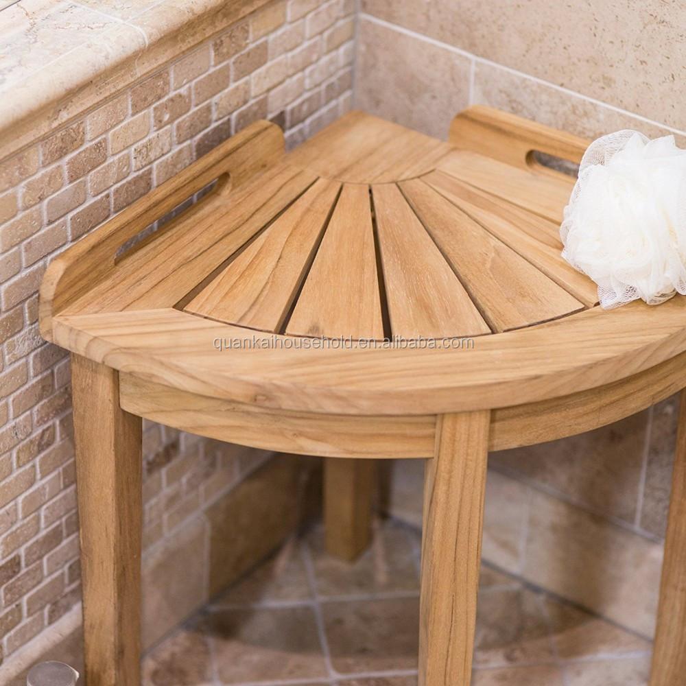 tabouret de douche vert bois bambou banc de salle de bains buy banc de douche siege d angle tabouret de bain product on alibaba com