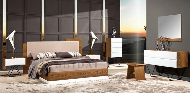 2017 Latest New Model Bedroom Furniture Wooden Designs ... on New Model Bedroom  id=52062