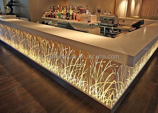 Rechargeable Bar Furniture,2016 Fashion And Modern Led