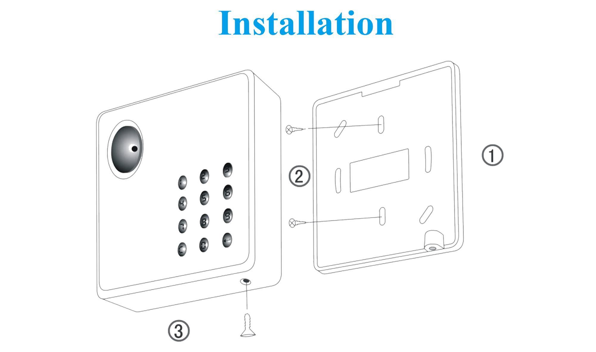 Contactless Smart Door Access Control Wiegand Reader Card