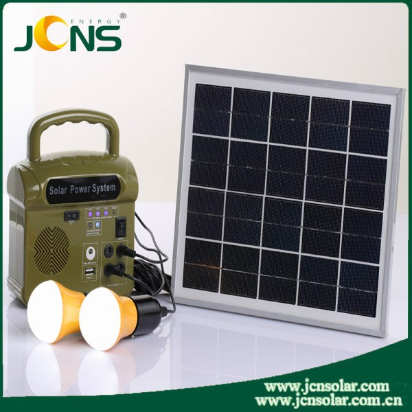 Portable Solar Power Kit For Home Use And Solar System ...