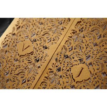 Professional Wedding Invitation Card Maker Sample Elegant Invitations Gold With Price