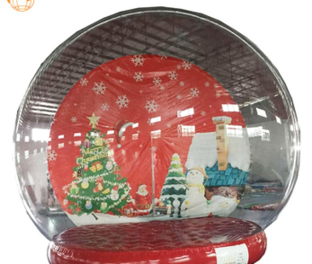 Cheap Giant Pvc Plastic Costume Inflatable Christmas Snow Globes With Photo Insert Buy Snow Globe Costumegiant Snow Globechristmas Snow Globe Product On
