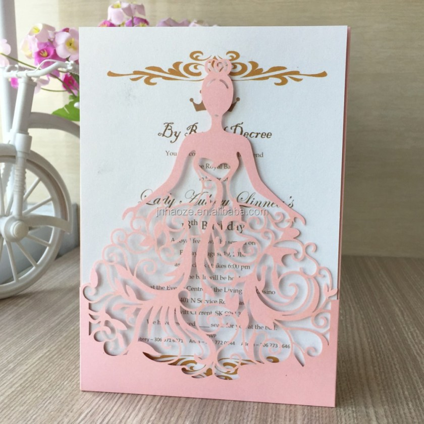 Laser Cut Cards Wedding Invitation Card Made In Chinese Factory The Low China
