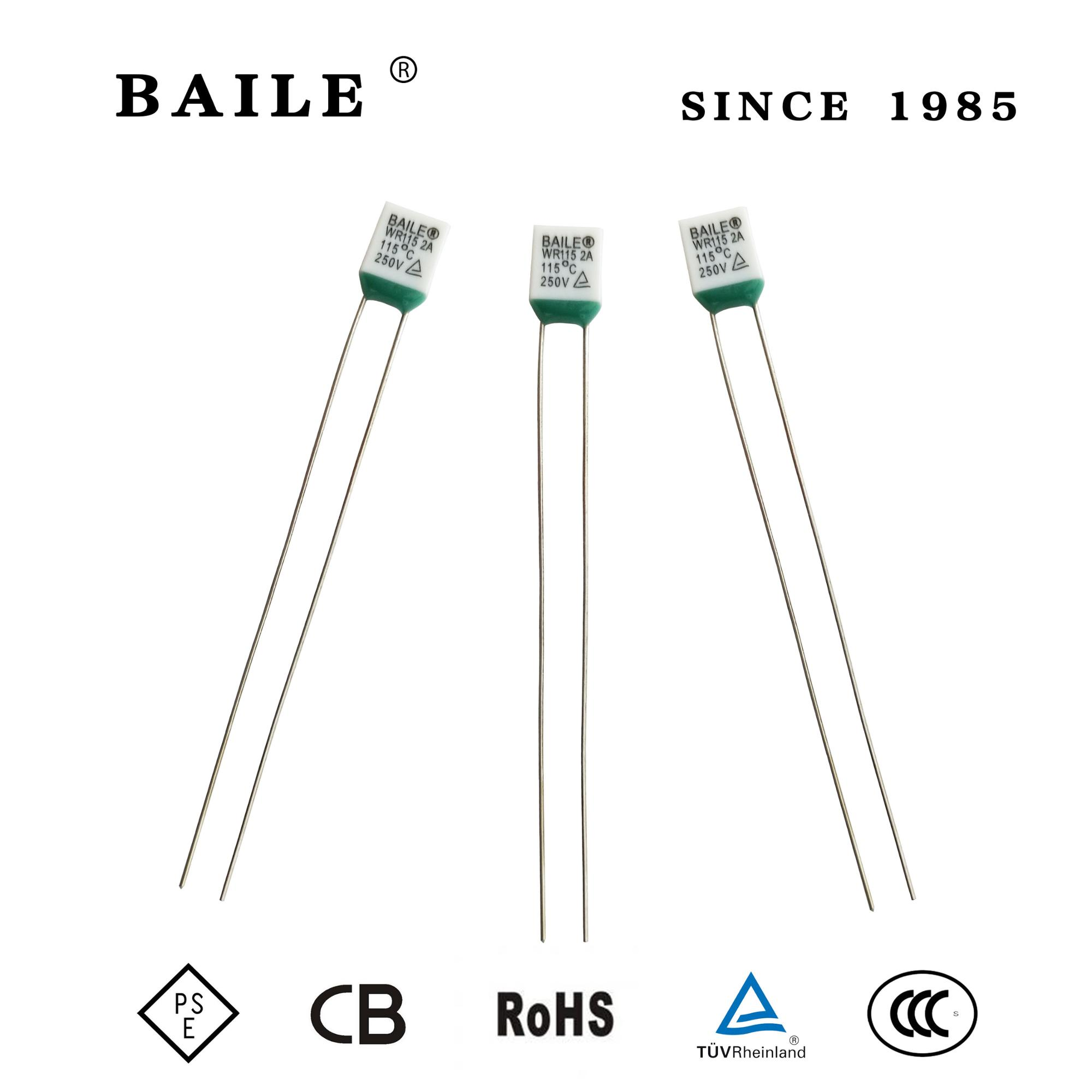 Baile Wr Series Aupo Thermal Fuse For Switch 2a 250v 115c